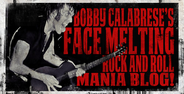 Bobby Calabrese's OFFICIAL BLOG