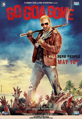 Go Goa Gone (2013) Hindi Movie Poster