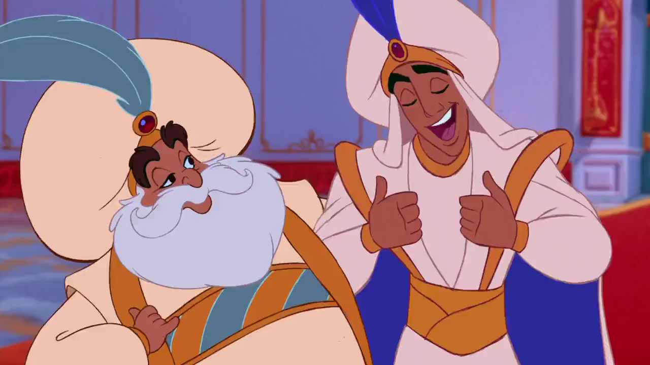 GOOD BUT NOT GREAT: Aladdin (1992) for Aladdin All Characters  303mzq