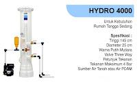 filter air keruh dan kuning berkapur