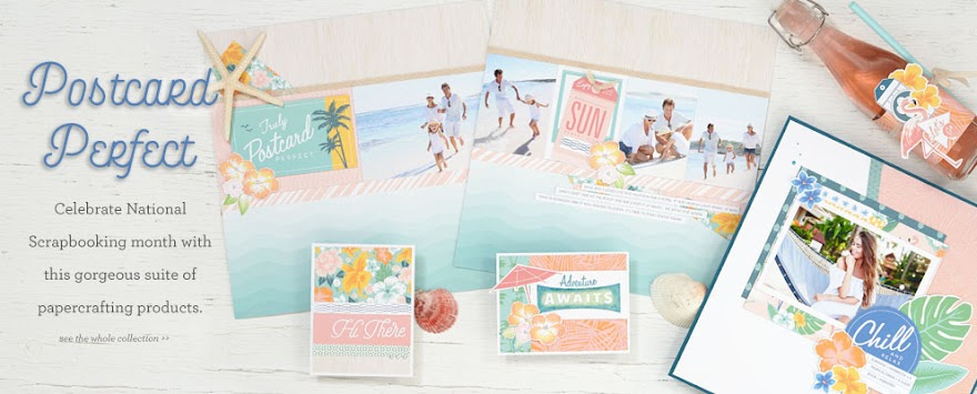 National Scrapbooking Month Special - Postcard Perfect