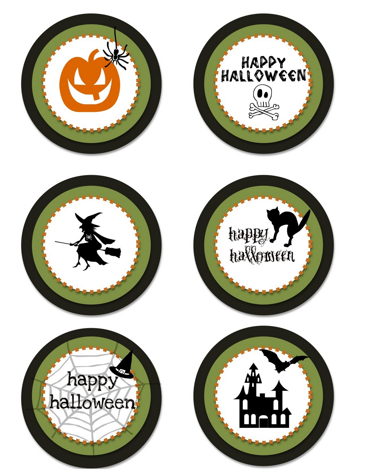 FREE PRINTABLE halloween  Creative Juice