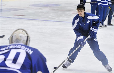 Justin Bieber Leafs