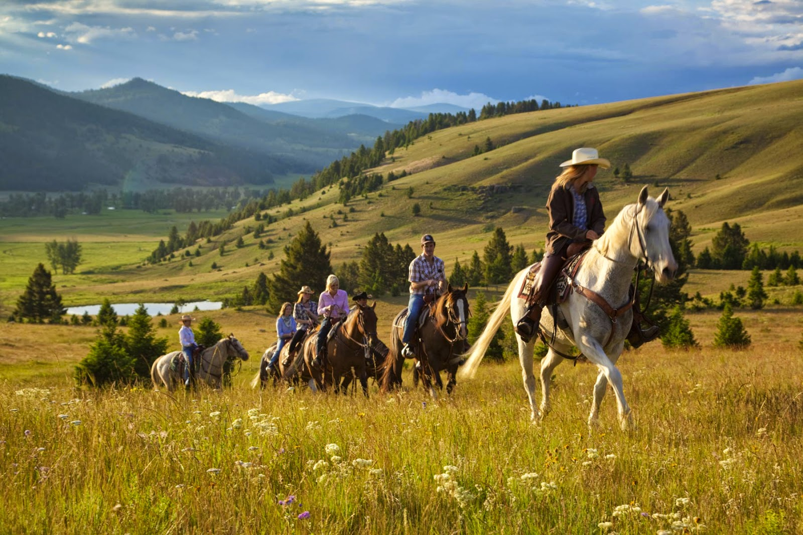 The Ranch at Rock Creek Horseback Riding Montana