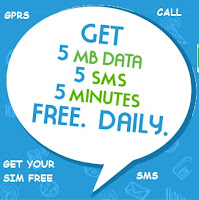 free calls,sms and gprs