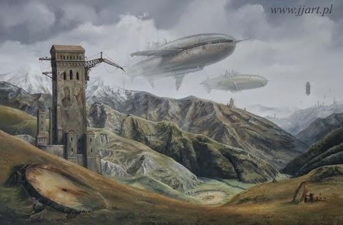 22-Jarosław-Jaśnikowski-Surreal-Paintings-of-Fantastic-Realism-www-designstack-co