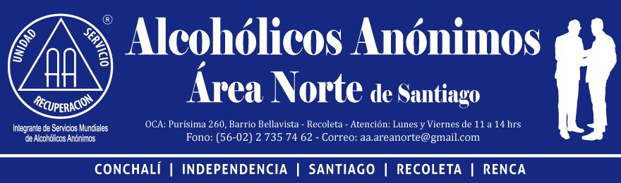 A.A. área norte de Santiago