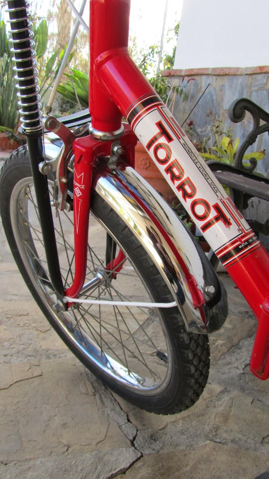 Bicicleta antigua - Torrot bmx