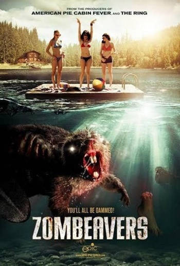 Castores Zombies DVDRip Latino