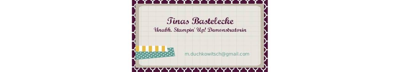 Tinas-Bastelecke - Stampin' Up! Demonstratorin Gänserndorf, Niederösterreich, Wien, Mistelbach