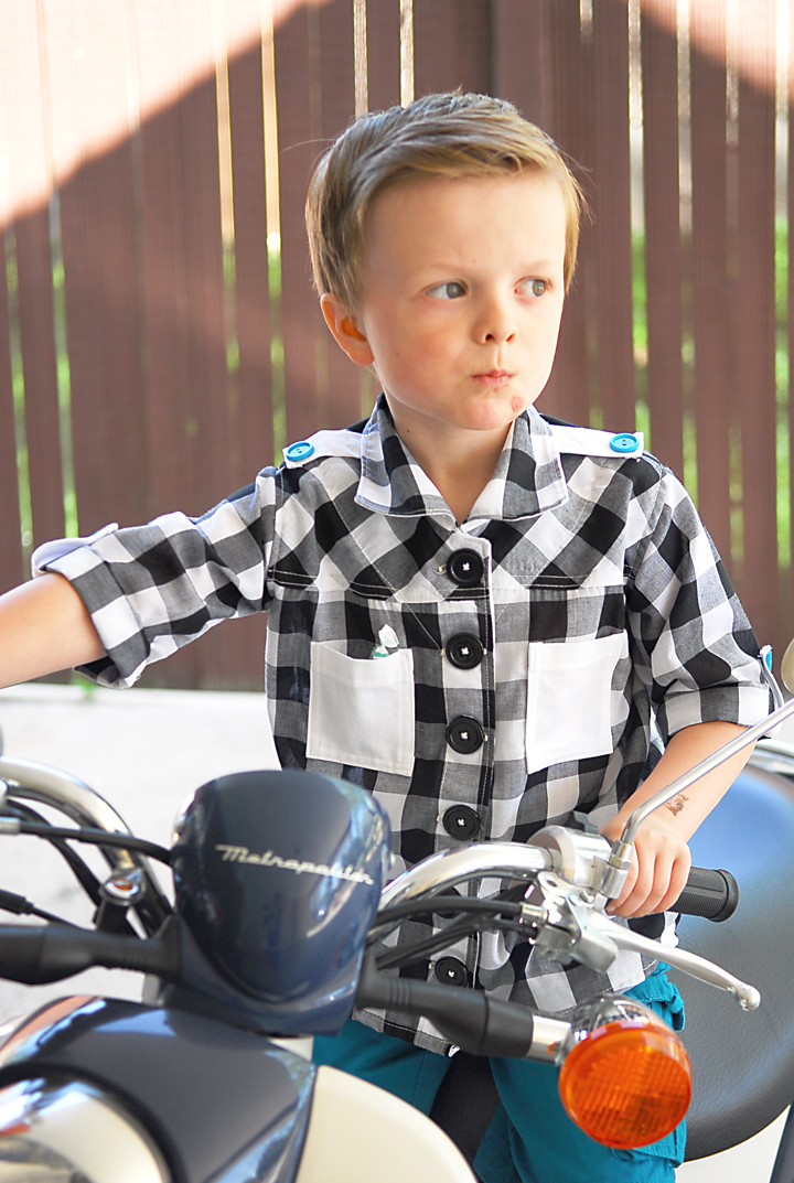 The Checkered Maxwell {boys summer collection} - Shwin and ...