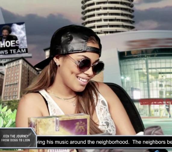 Episode Of Snoop Lion's &Quot;ggn News [Feat The Beautiful Lauren London