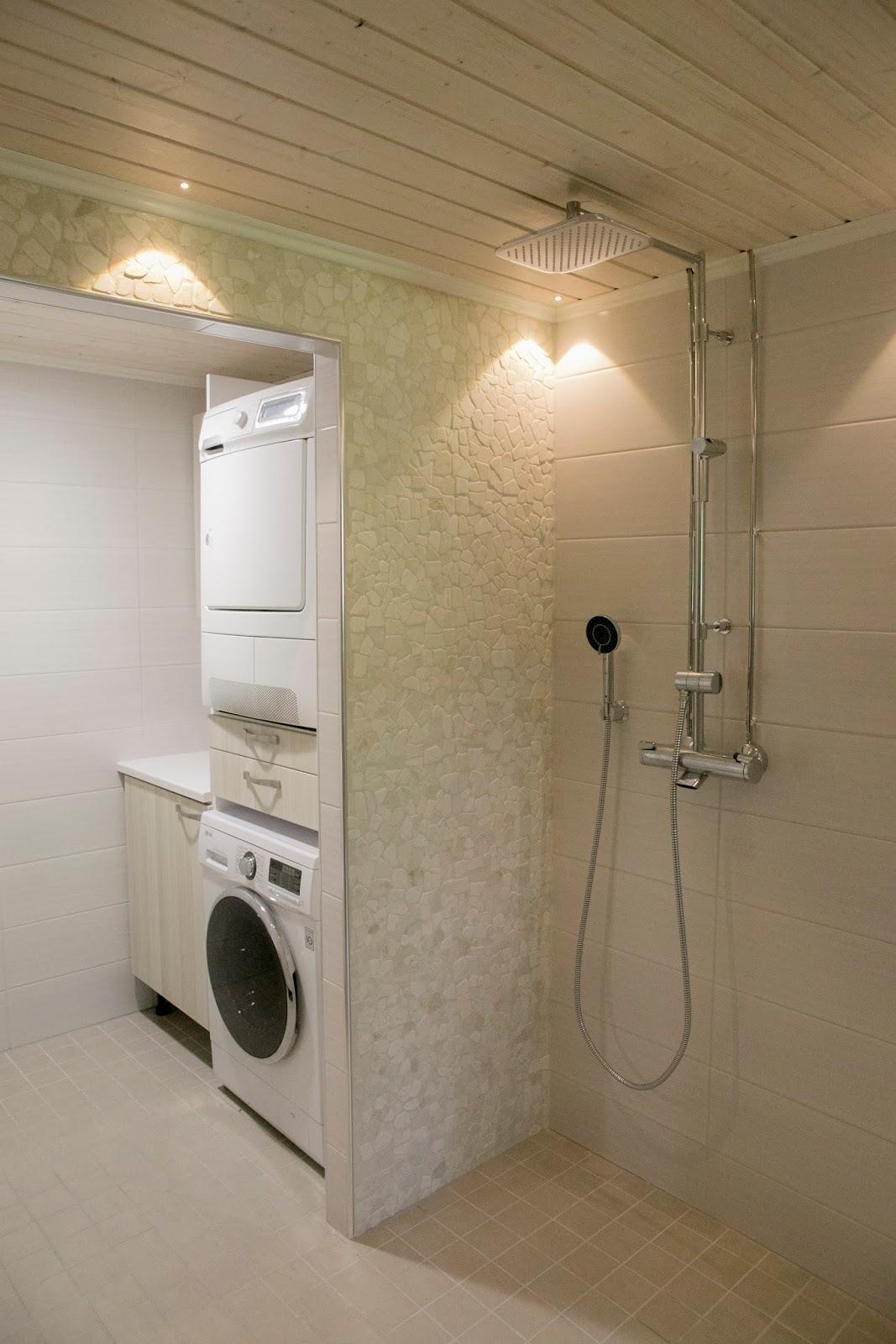 Kuivausrummun asennus pesukoneen päälle