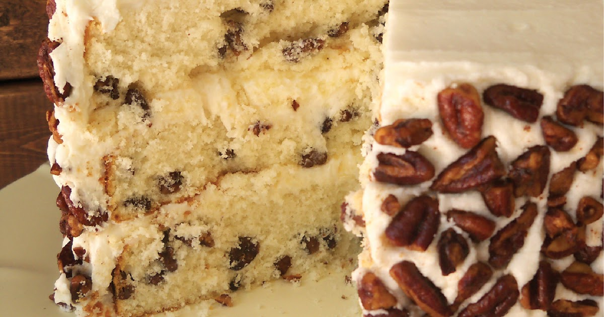 Bird On A Cake: Toasted Butter Pecan Cake