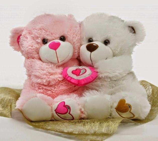pink teddy for gf girlfriend happy teddy day sms .jpg