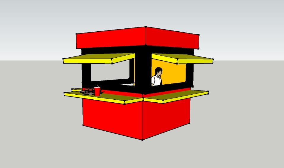 Jasa Pembuatan Booth/Gerobak, Lemari, Meja, Ranjang, Aneka Rak