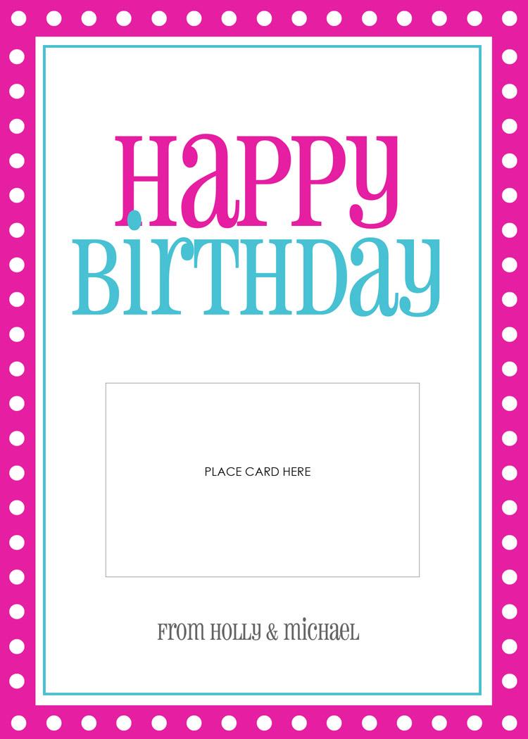 lauren chow designs  gift card templates