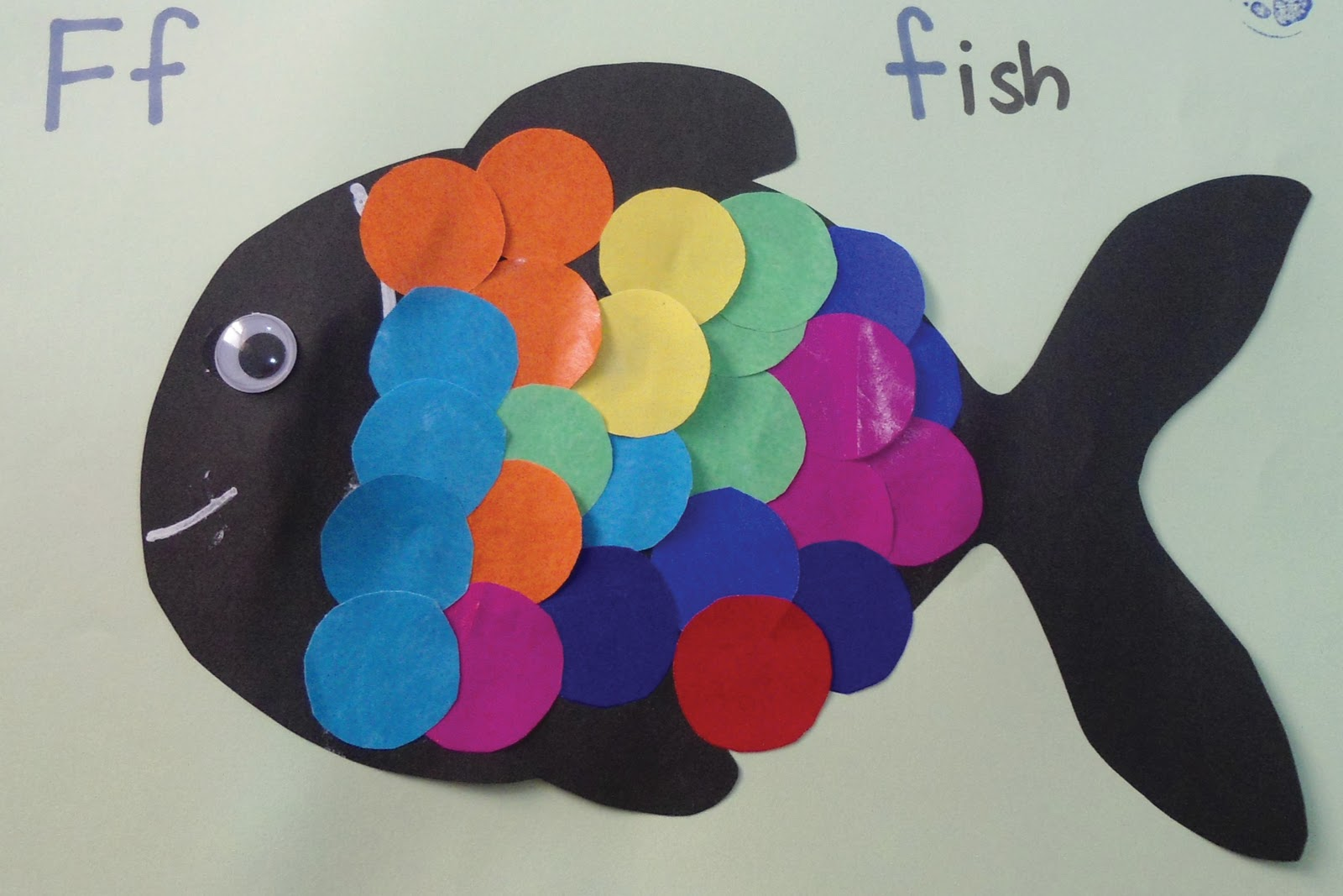 Teacher weena fish craft activity for Fish crafts for preschoolers
