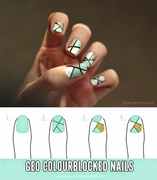 Step By Step Nails Art Design Tutorial