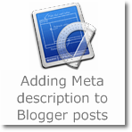 How to add Meta description to Blogger posts