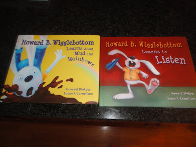 A Giveaway and Review of Howard B. Wigglebottom Children Books