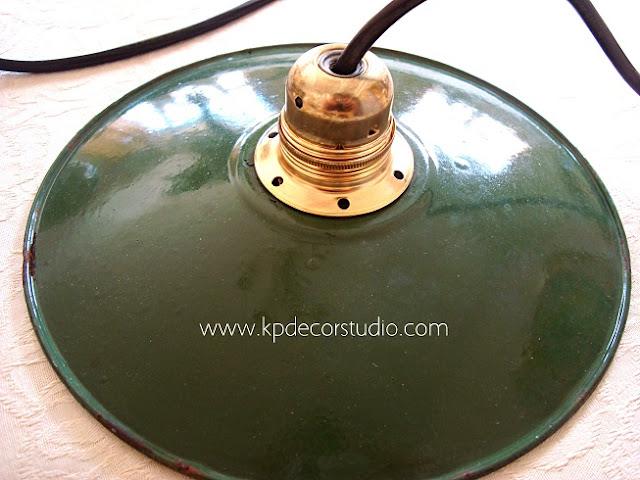 Tienda online de lámparas vintage antiguas esmaltadas para decoradores