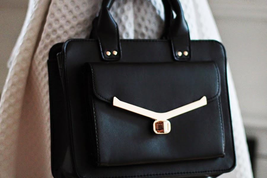 schwarze tasche primark berlin style