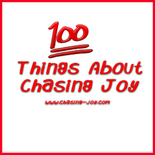 Get to Know blogger Chasing Joy