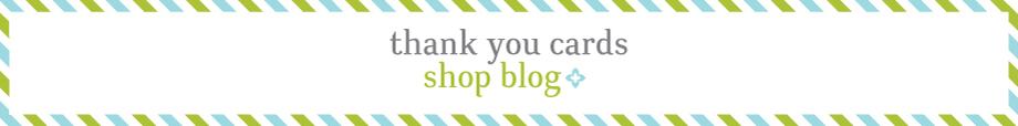 Thank You Cards Shop Blog