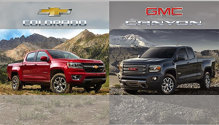 2015 Canyon & Colorado Offer Segment Leading Fuel Economy