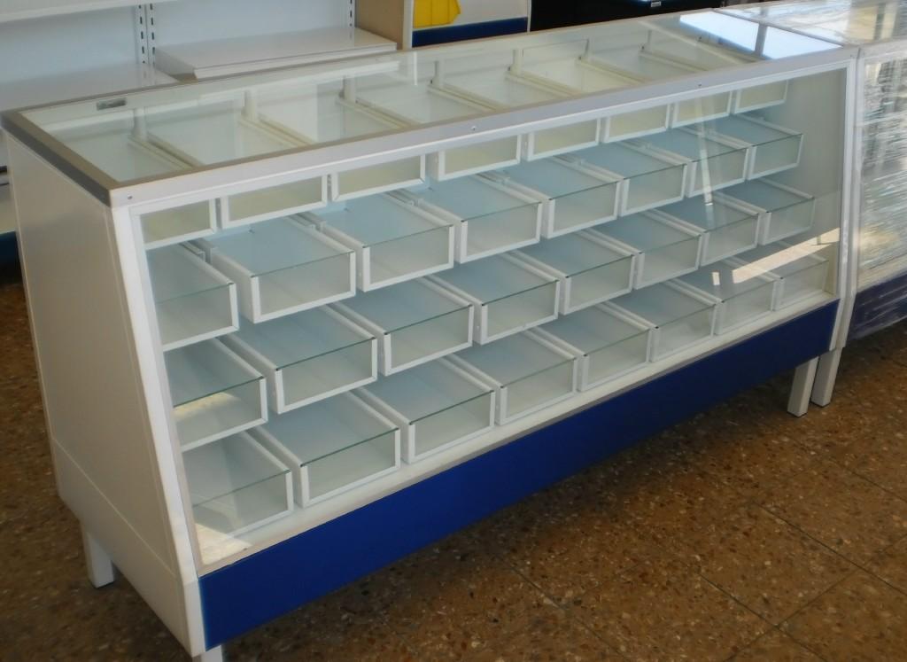 Estanteria metalica muebles metalicos y anaqueles metalicos 2011 - Mobiliario para merceria ...