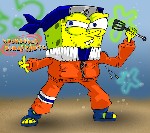 Spongebob Ninjapants por willgreg123