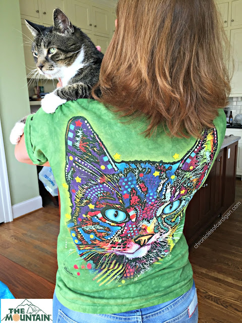 the Mountain Dean Russo cat rescue tee