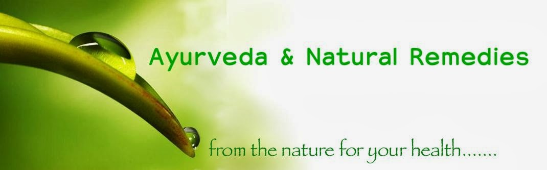 Ayurveda and  Natural Remedies