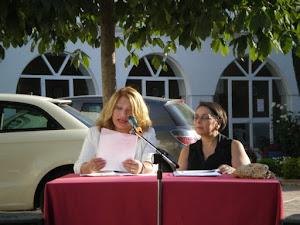 2011 en Cajar con Ivonne Sanchez