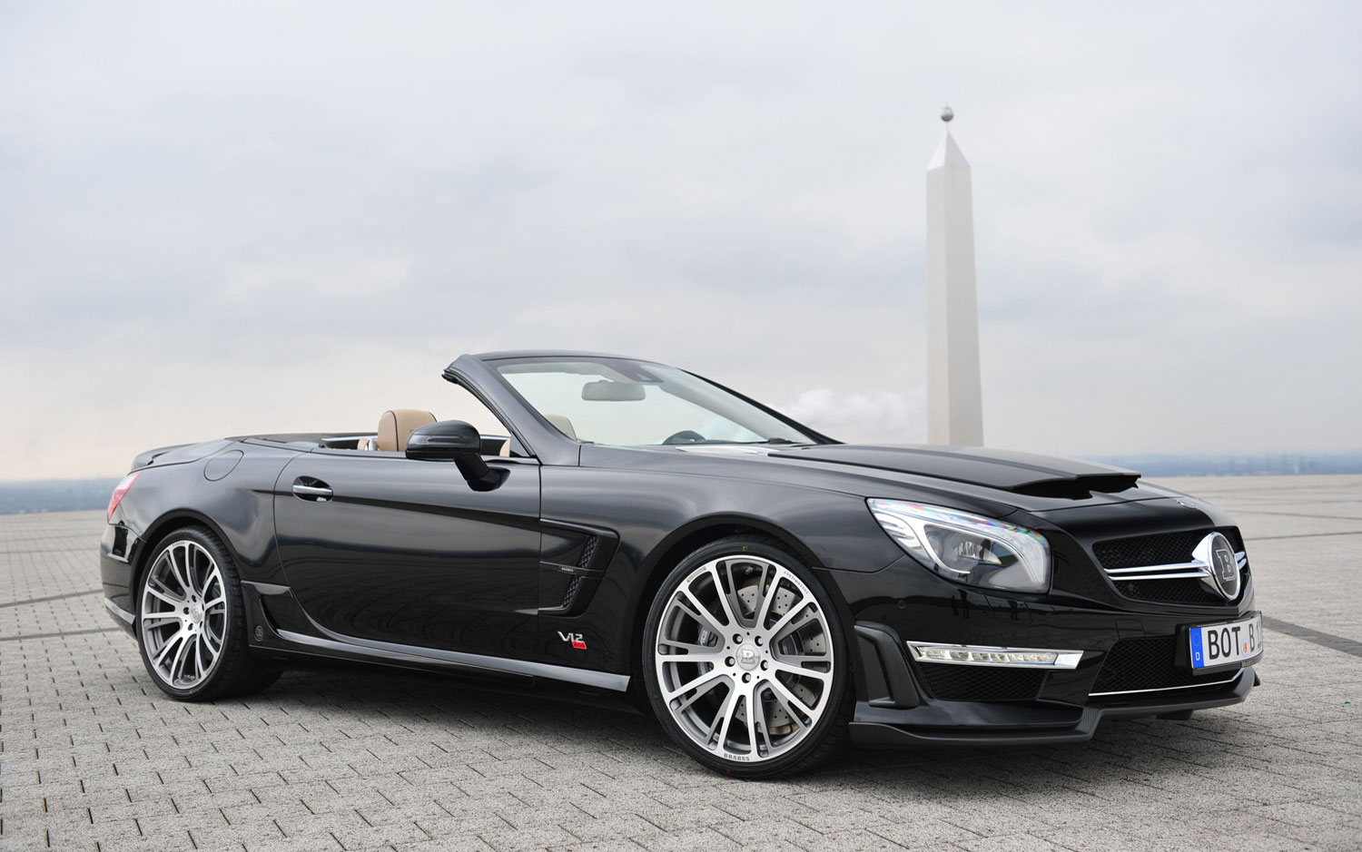 Cars Model 2013 2014 Brabus Tunes Mercedes Benz Cls63