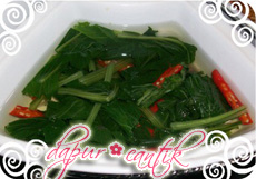 Gambar Resep Masakan Sayur Bening Sausin Dapur Cantik