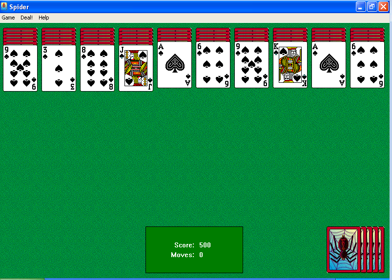original windows solitaire