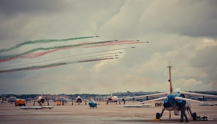 Bandera Italia Frecce Tricolori