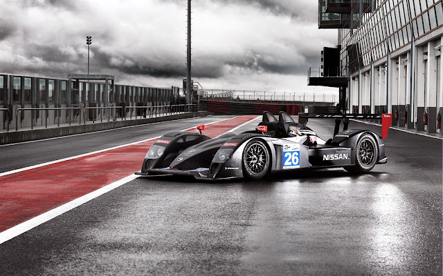 1321-Signatech Nissan LMP2 Racing Race Cars Track HD Wallpaperz