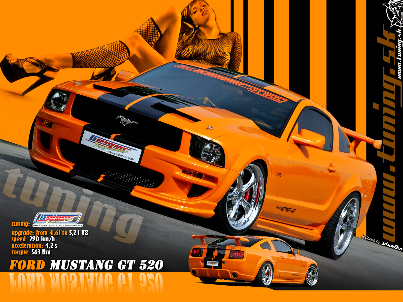 fotos tuning car:
