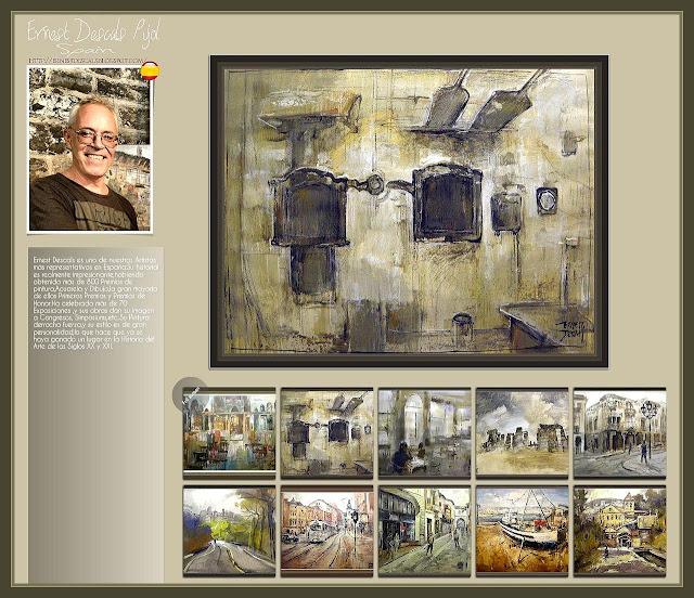 PINTURAS-ERNEST DESCALS-MAESTRAZGO-GALERIA-ARTE-ART-GALLERY