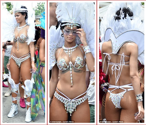 rihanna naked pictures carnival