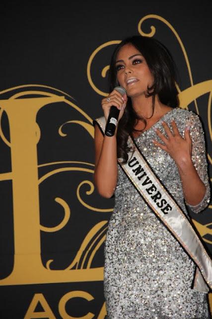 Miss Bahamas Universe 2011 Anastagia Pierre in Las Vegas