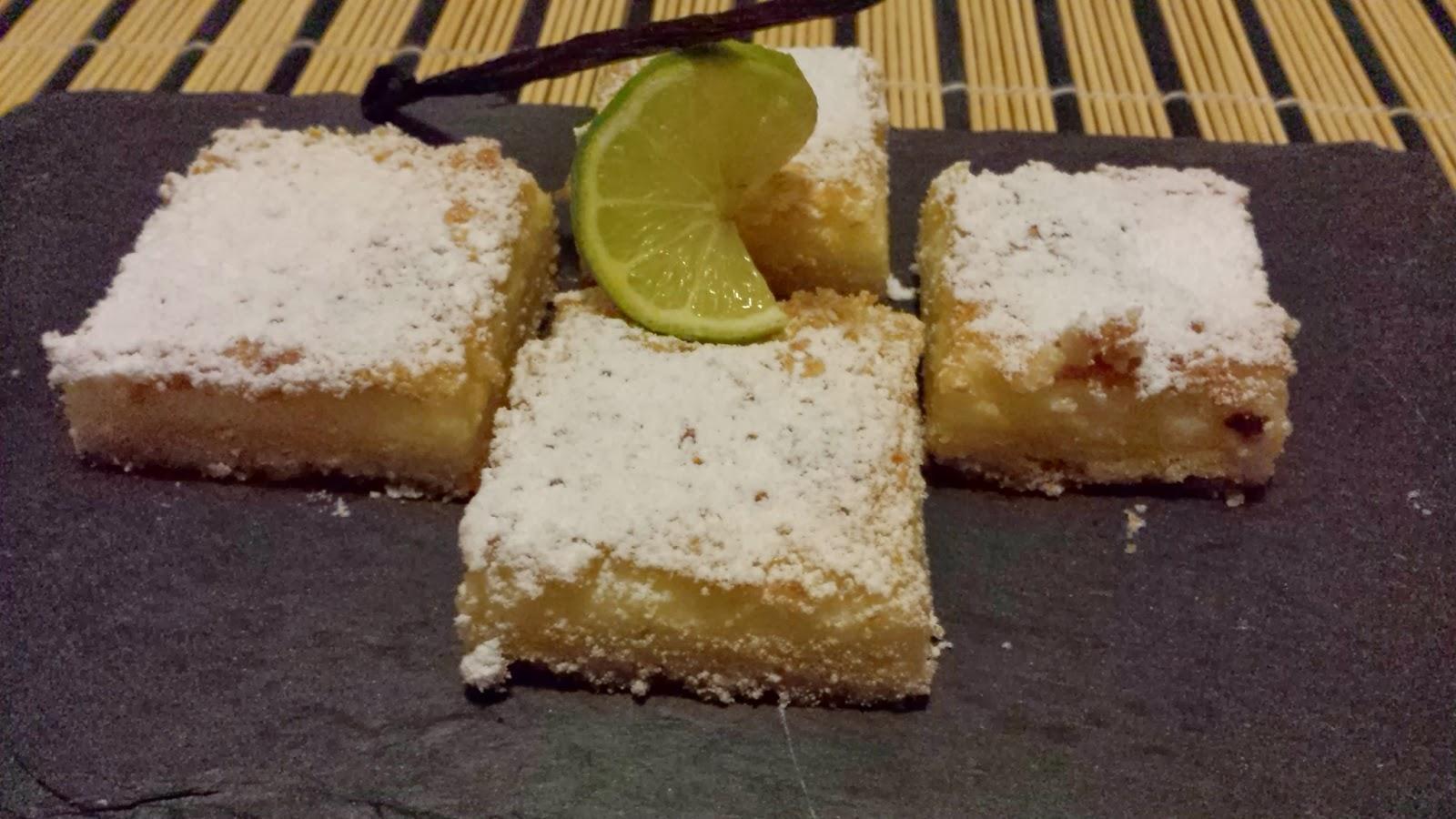 pasticcini al lime