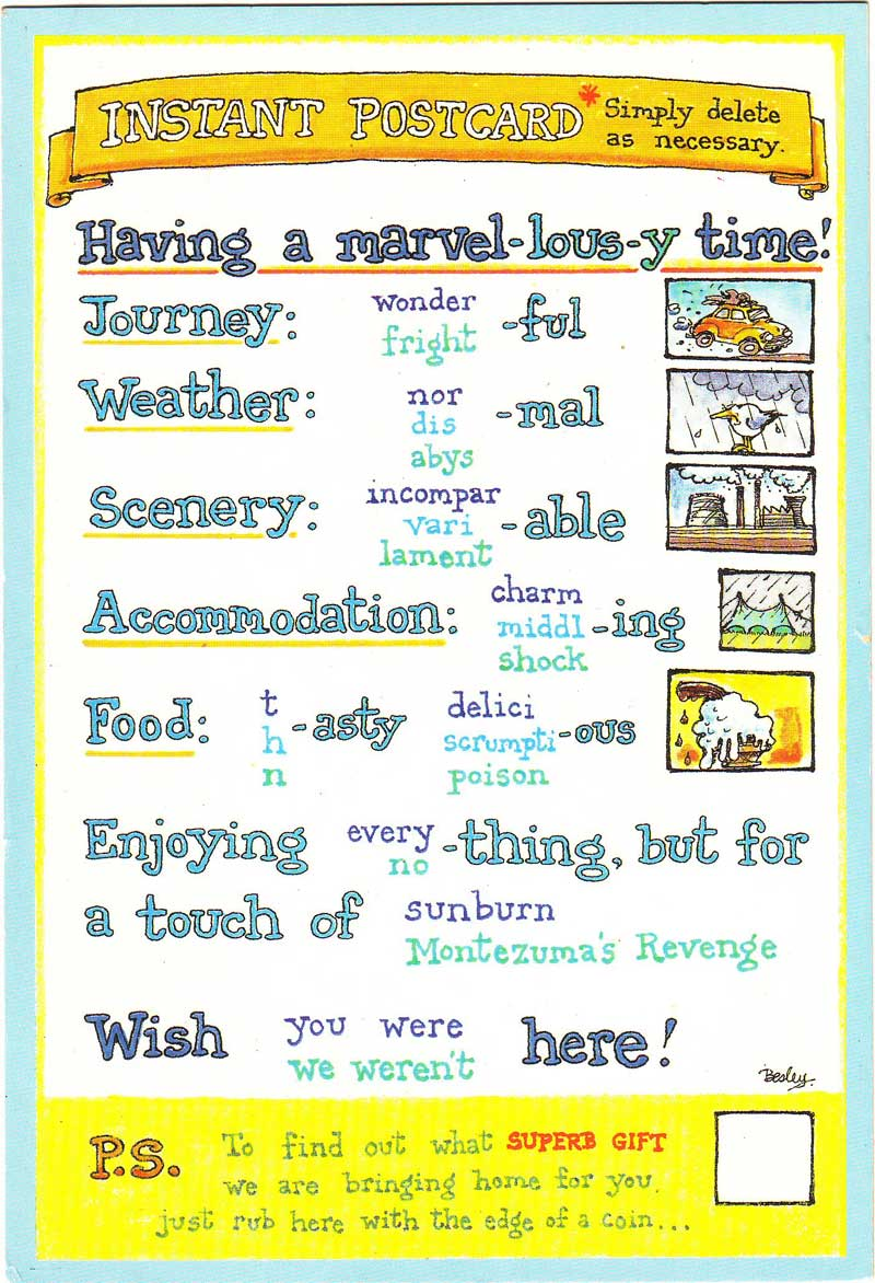 adjective suffixes