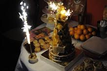 Le gâteau d'anniversaire de Jean !!!