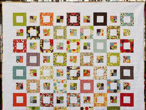 Michelle's Freebird Squares Quilt