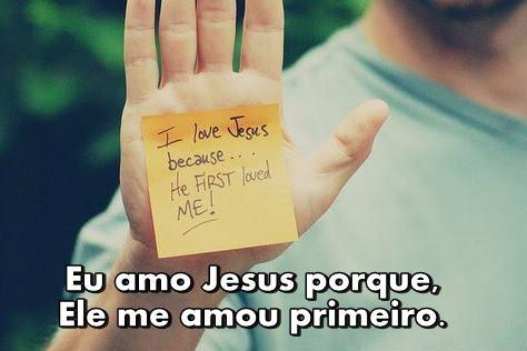 Eu Amo Jesus - declare!