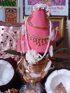 how to make kalasam for varalakshmi vratham